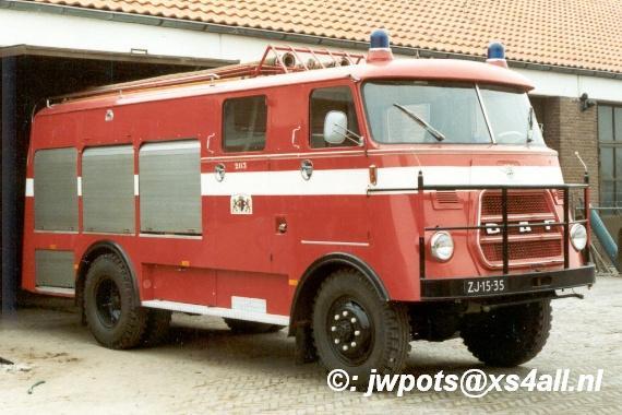 1952 DAF Brandweer Elburg