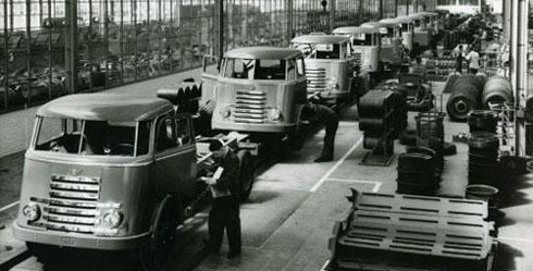 1952 DAF Fabricage