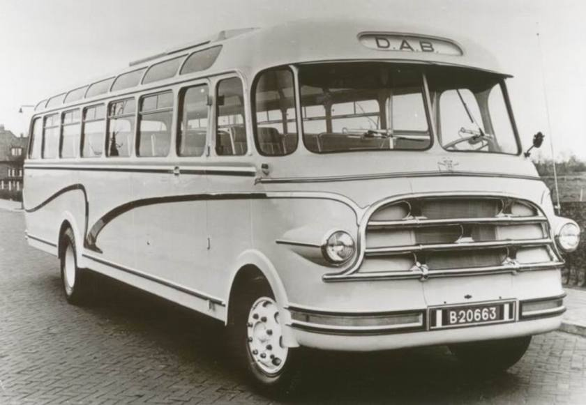 1952 DAF Groenewold Hoogezand