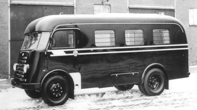 1952 DAF Politiebus b