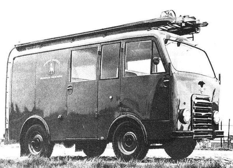 1952 DAF Politiebus