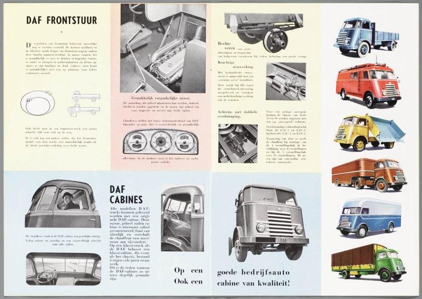 1952 DAF serie 40-50-60. voorbeelden