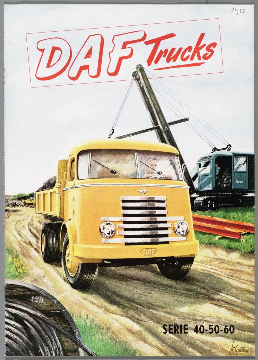 1952 DAF serie 40-50-60