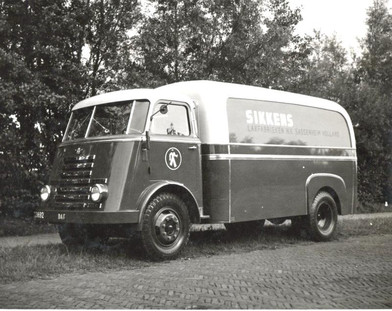 1952 Daf Sikkens