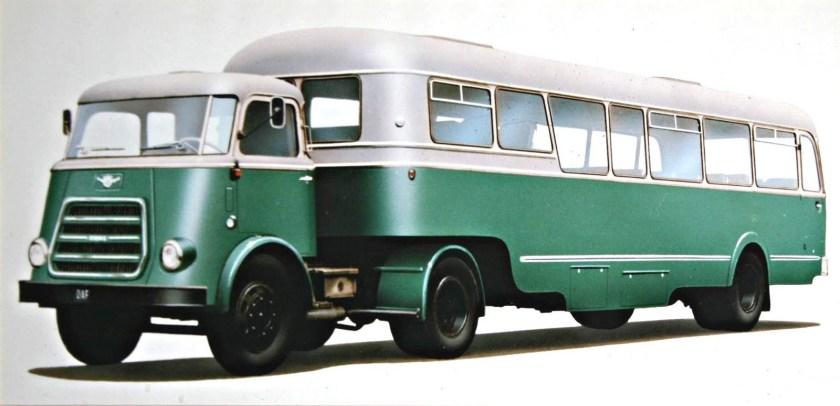 1952 Daf T 1600 busoplegger Charles Burki