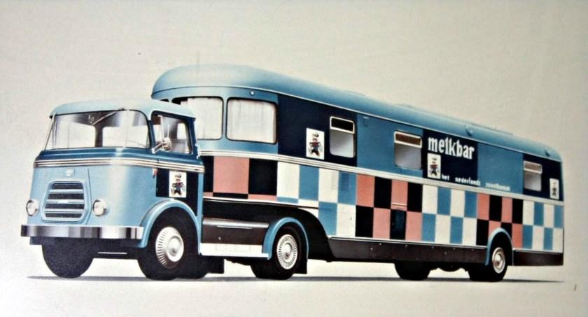 1952 Daf T 1600 busoplegger melkbar