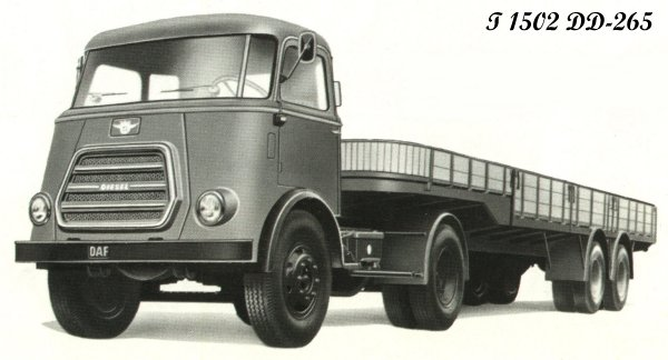 1952 DAF T1502DD-265