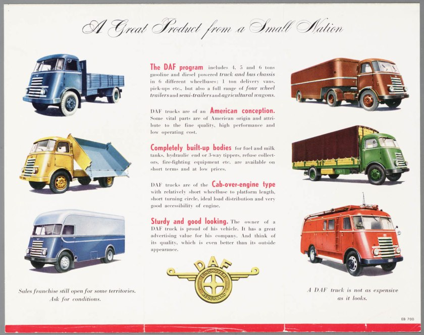 1952 DAF the DAF Program b