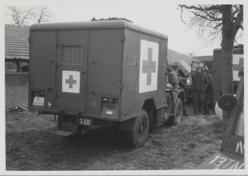 1952 DAF YA 126 Ambulance