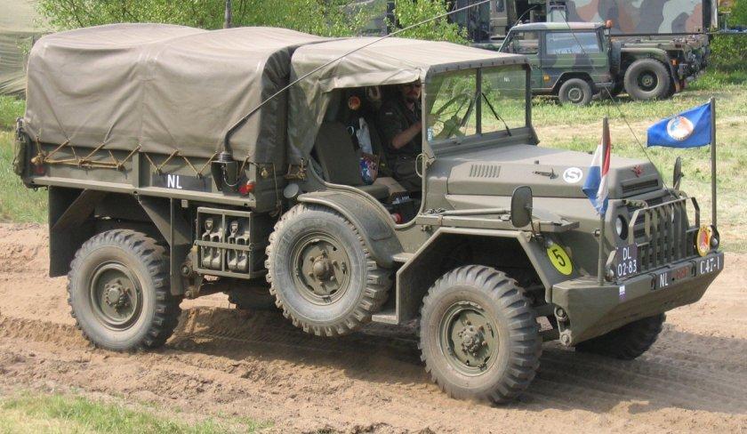 1952 DAF YA 126 Militair