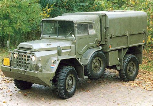 1952 DAF YA 126 radio 102