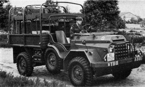 1952 DAF YA 126 workshop 2