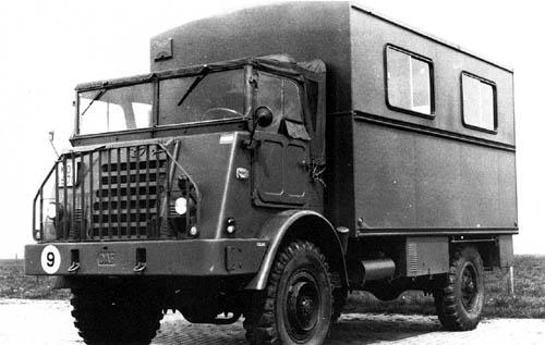 1952 DAF YA 314 102