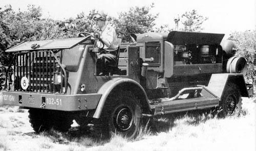 1952 DAF YA 314 compressor 1