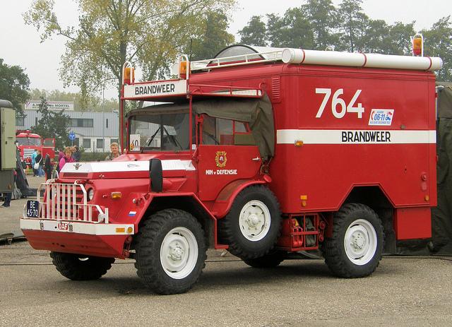 1952 DAF YA Defensie Brandweer