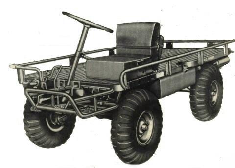 1952 DAF YM500