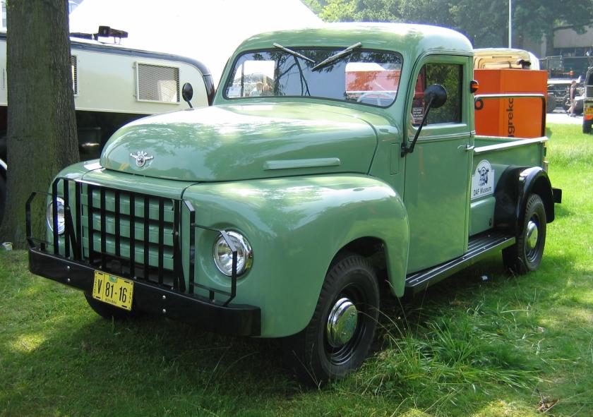 1953 DAF A107 pickup op basis van de A10 DAF 38