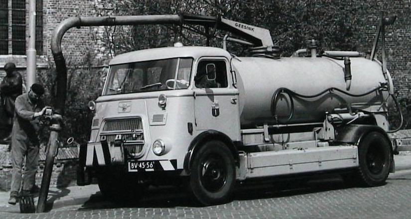 1953 DAF A1300 Geesink