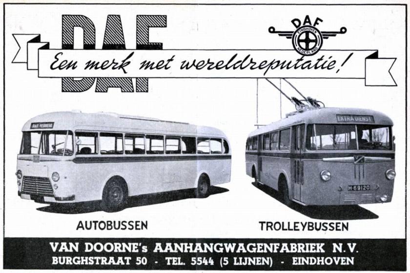 1953 DAF Autobussen