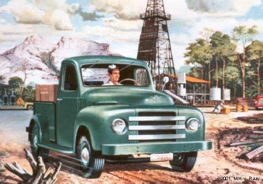 1953 DAF Charles Burki