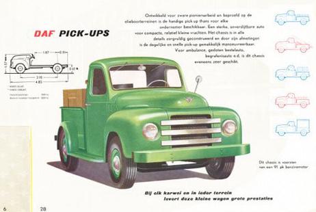 1953 DAF Pick-ups folder