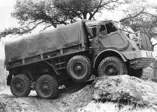 1953 DAF YA 328 artillery tractor 101