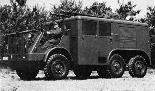 1953 DAF YA 328 fire 102