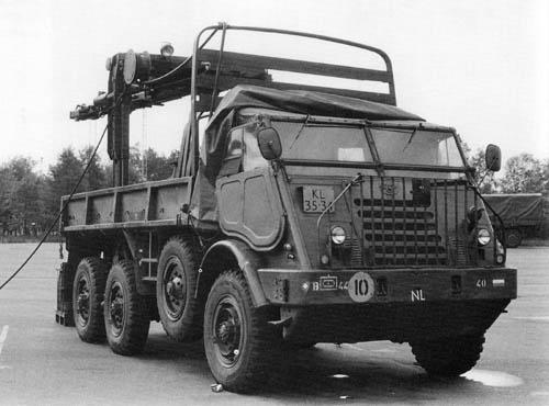 1953 DAF YA 328 HULO kraan 1