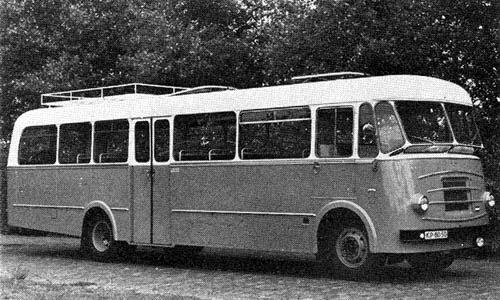 1954 DAF B-1500 DL  1