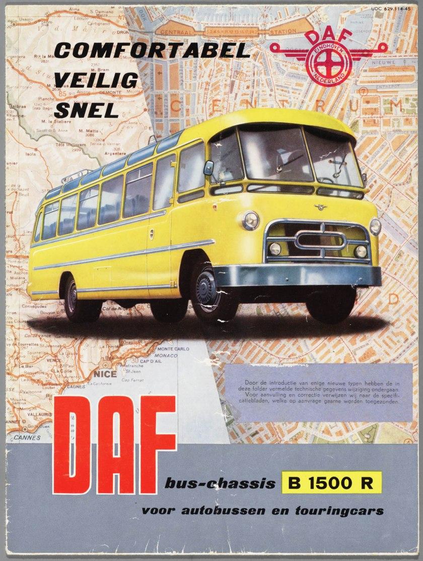1954 DAF B 1500R a