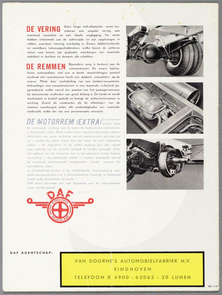 1954 DAF B 1500R e