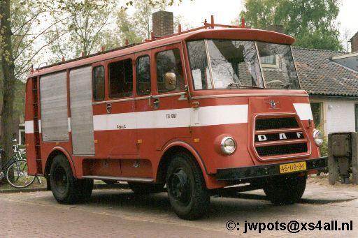 1954 DAF Brandweer Goirle