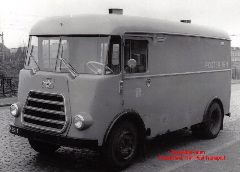 1955 DAF A11505tb Kastwagen PTT