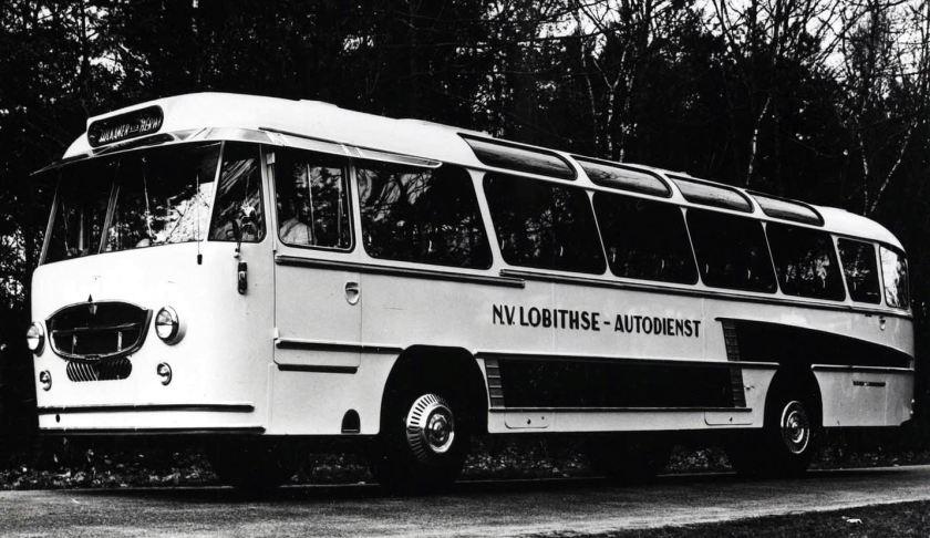1955 DAF autobus van de LAD met Konig opbouw