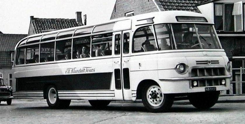1955 DAF carrosserie Roset NB 18 37