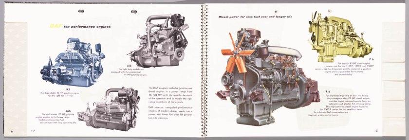 1955 DAF Programma 1955 h