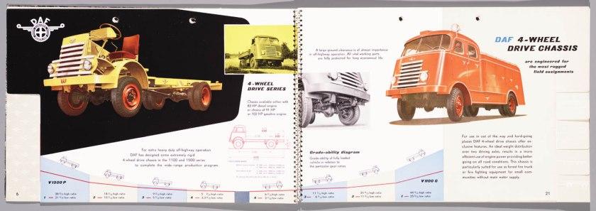 1955 DAF Programma 1955 l