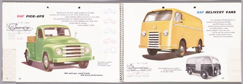 1955 DAF Programma 1955 p