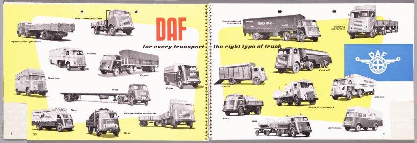 1955 DAF Programma 1955 q