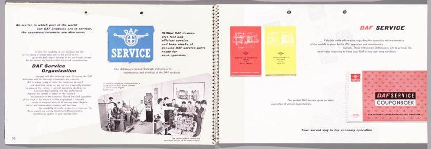 1955 DAF Programma 1955 t