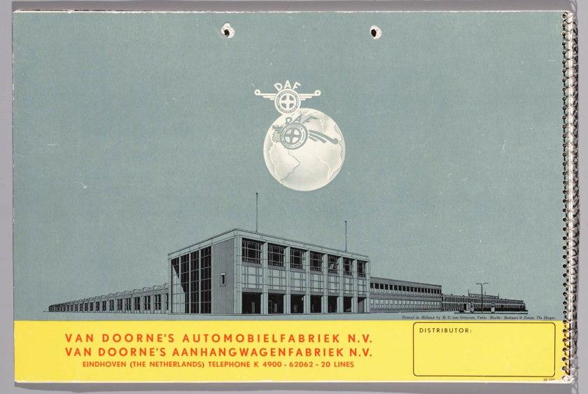 1955 DAF Programma 1955 u
