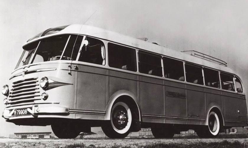 1955 DAF-Verheul bus van Jac. van Dijk. Eindhoven
