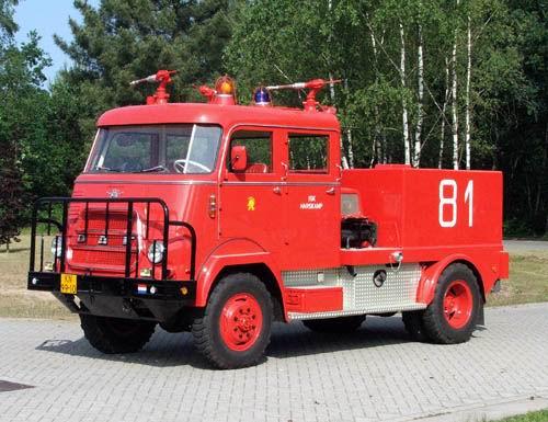 1956 Brandweer Trucks DAF V1600 01