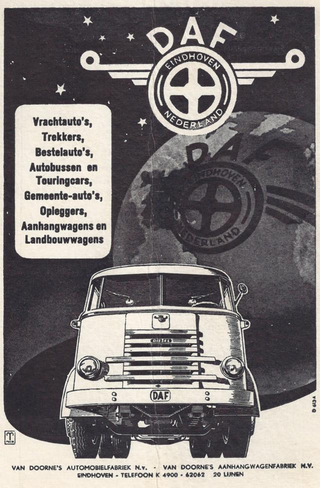 1956 DAF 6 streper Ad