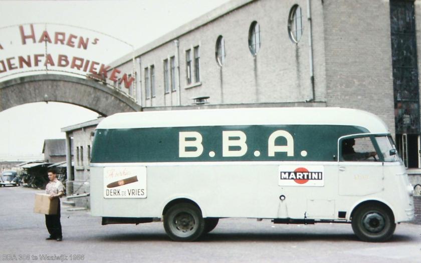 1956 DAF 6 streper bba308waalwijk