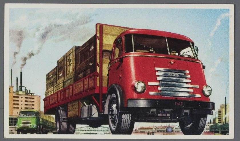 1956 DAF 6 streper