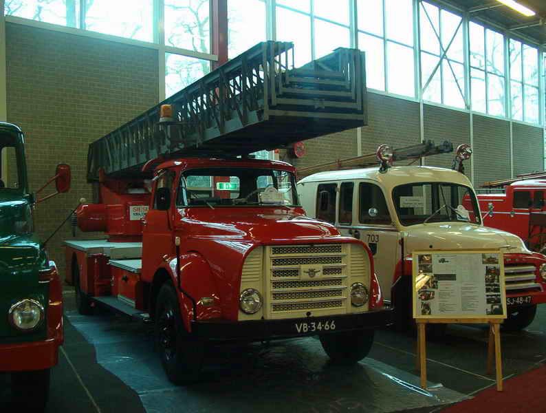 1956 DAF Torpedo ladderwagen