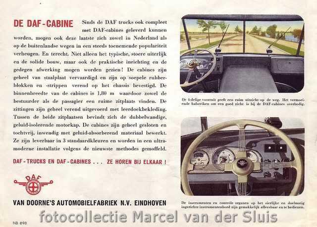 1956 dashboardDAF7streper