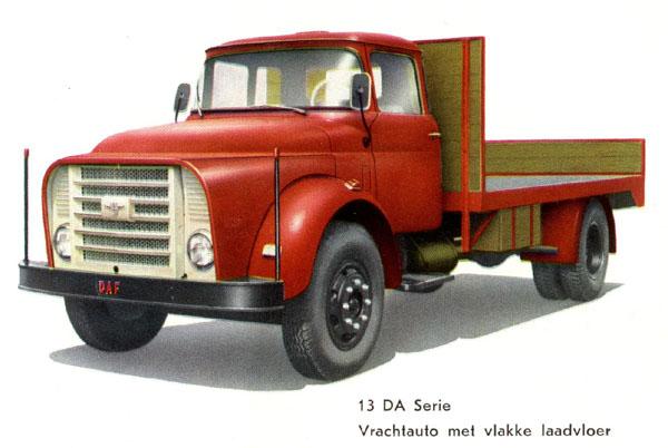 1957 DAF 13da