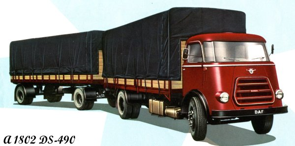1957 DAF A1802DS-490